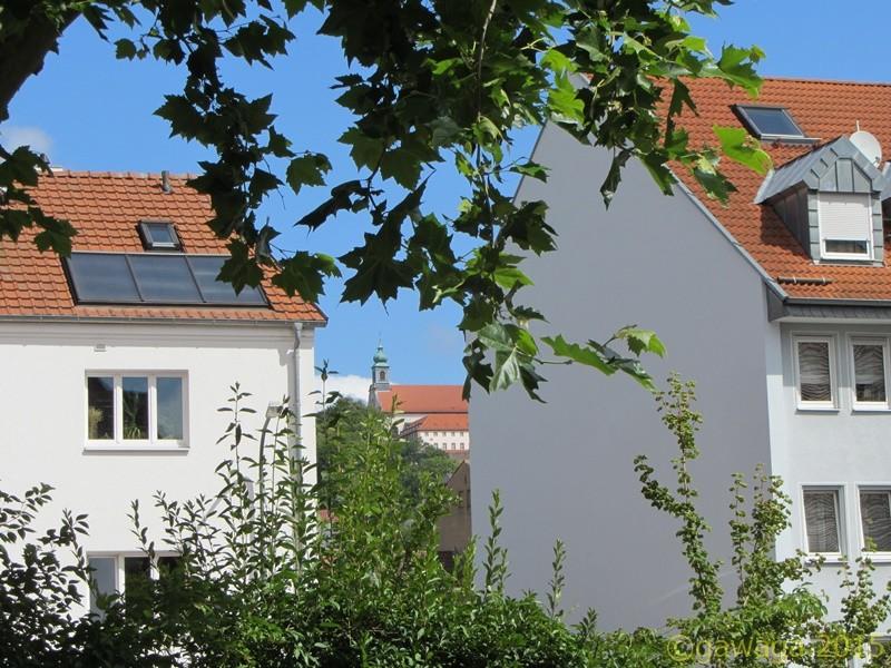 Blick zum Kloster Frauenberg