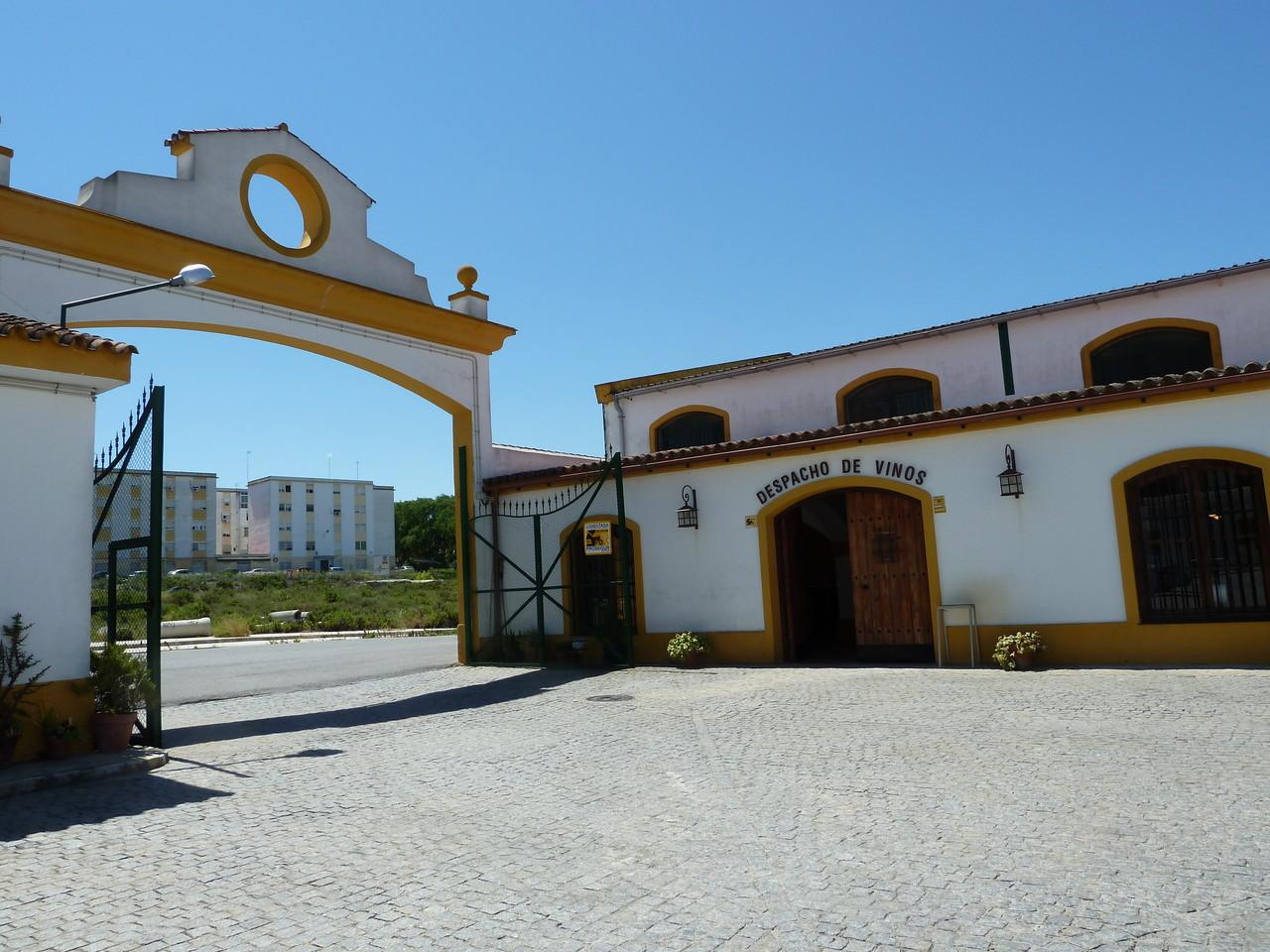 Weinkooperative in Jerez de la Frontera