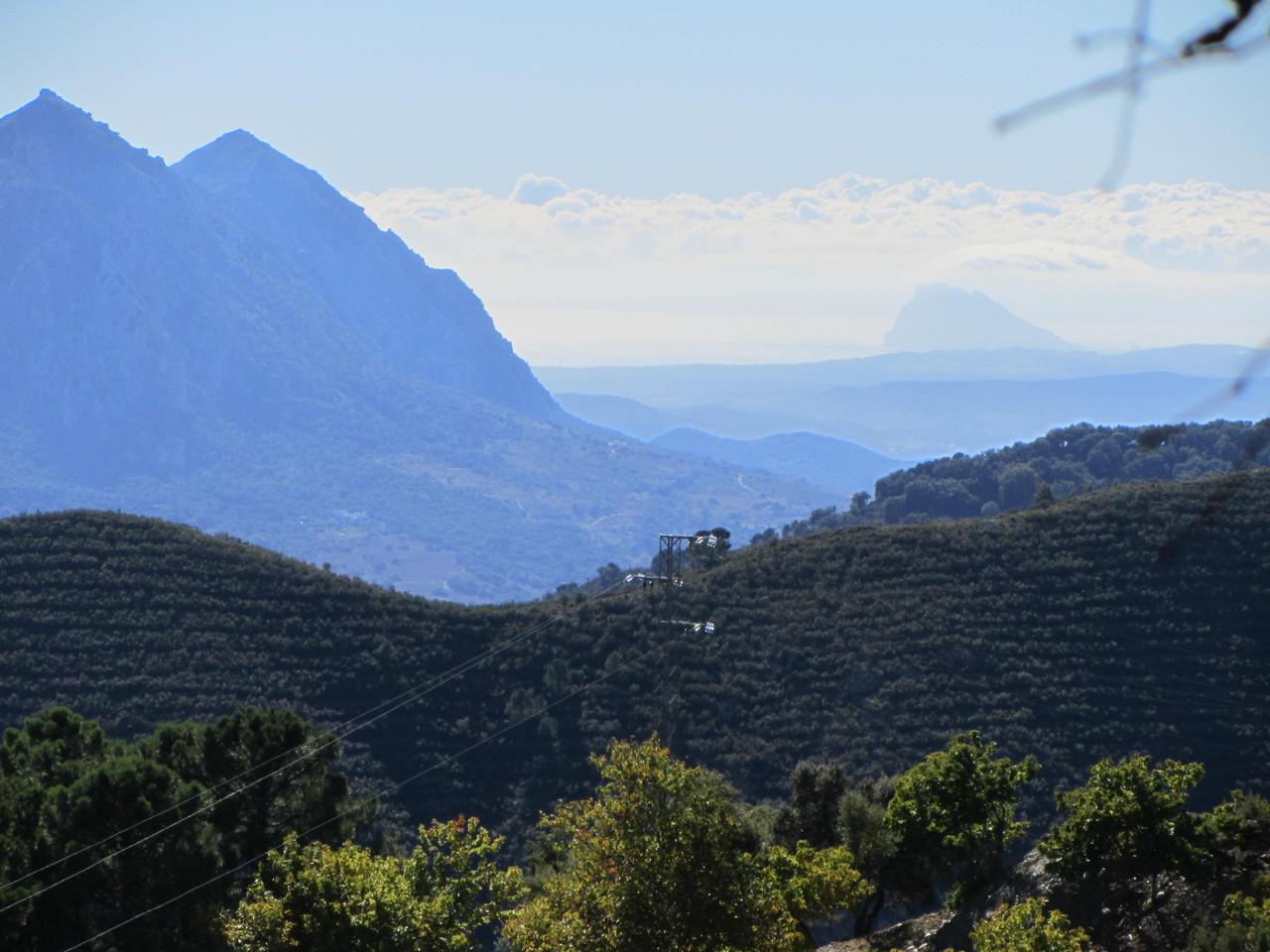und wieder kommt Gibraltar in Sicht