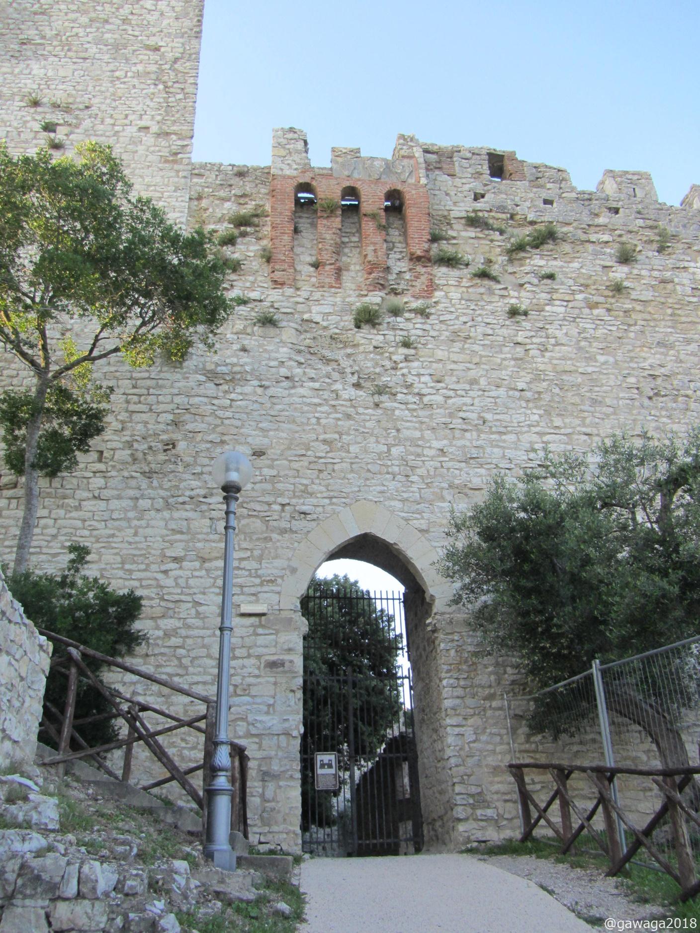 Reste der Burg