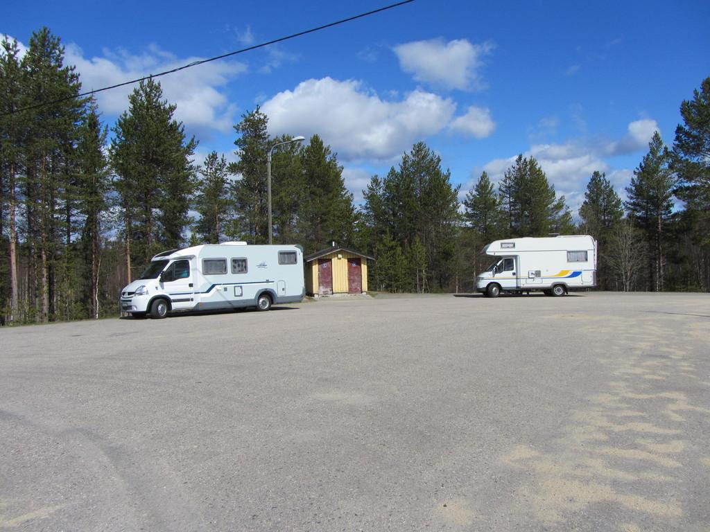 Entsorgung bei Raudanjoki