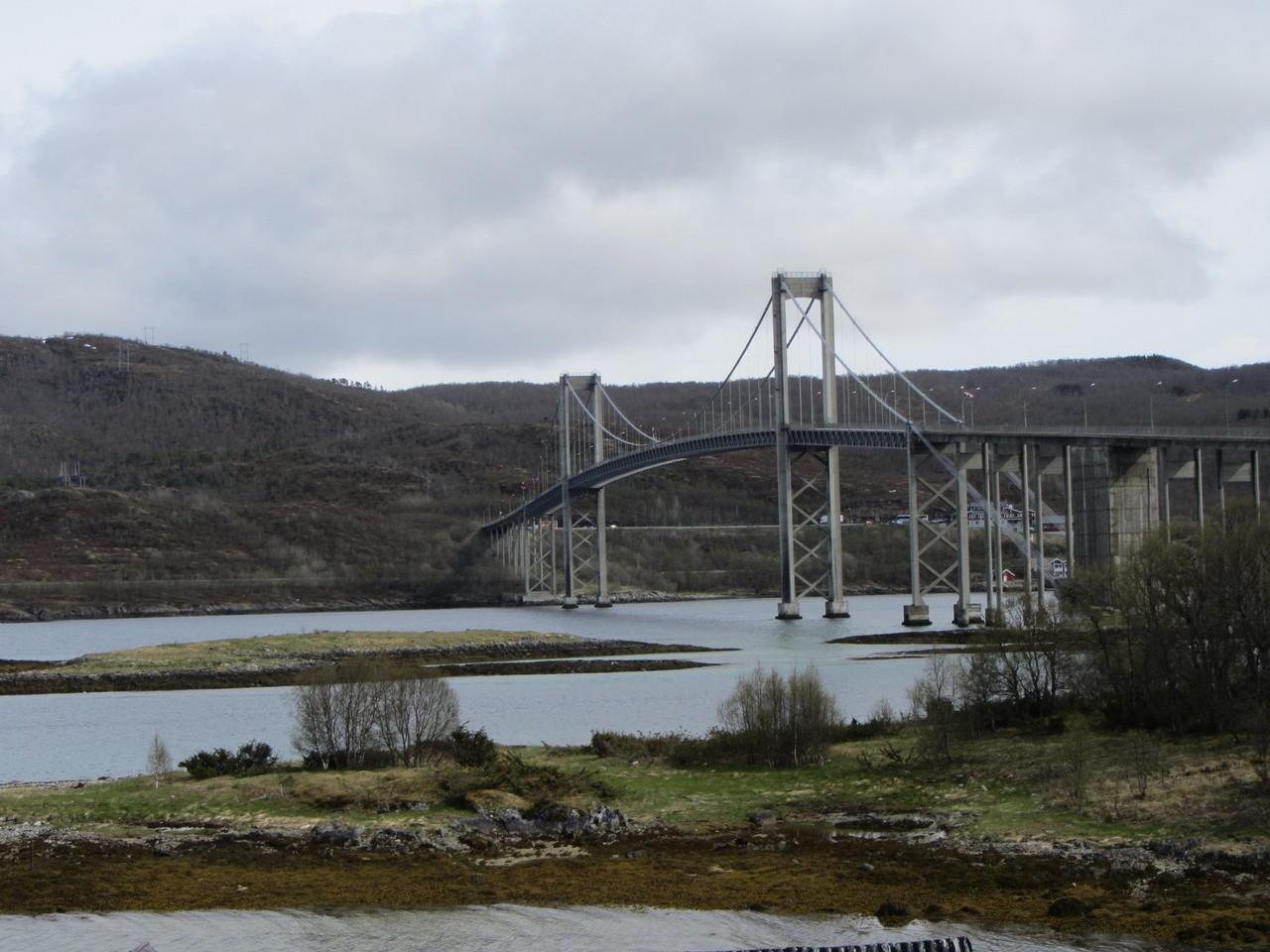 Brücke bei Storvatnet