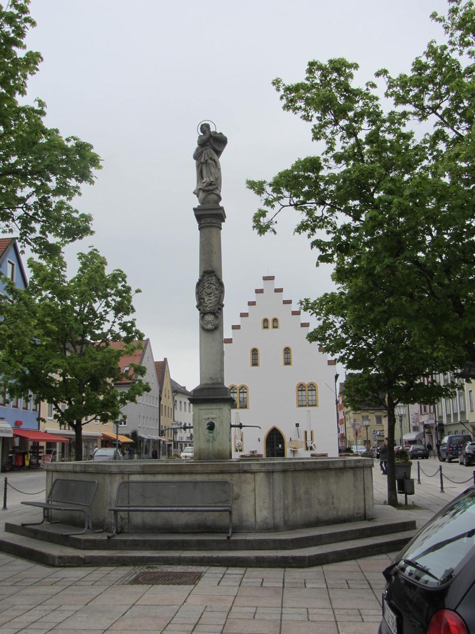 Marienbrunnen in Schongau