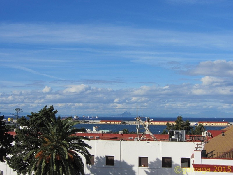 Gibraltar vom Hotel aus