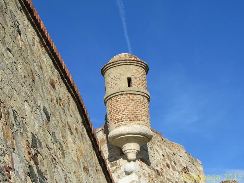 Einmannwachturm an der königlichen Mauer