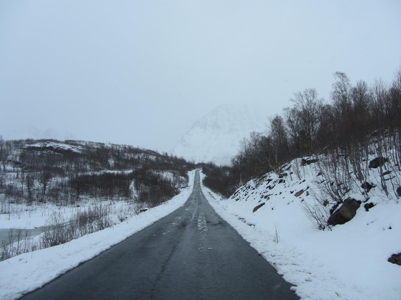 Auf dem Weg zum Jøkelfjordeidet
