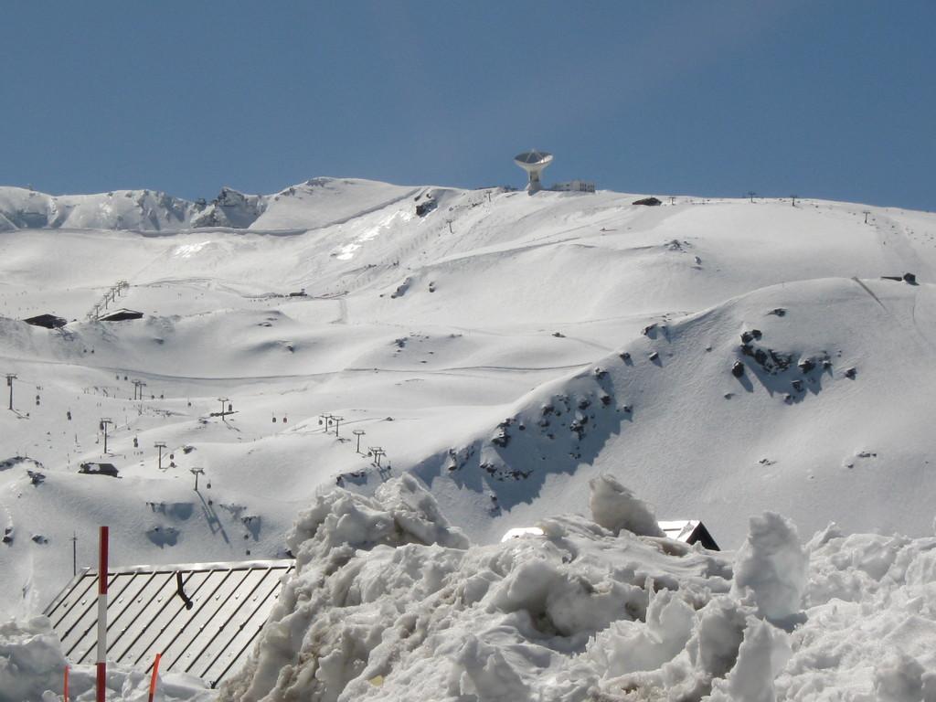 Blick vom SP zum Mulhacen und Pico del Veleta