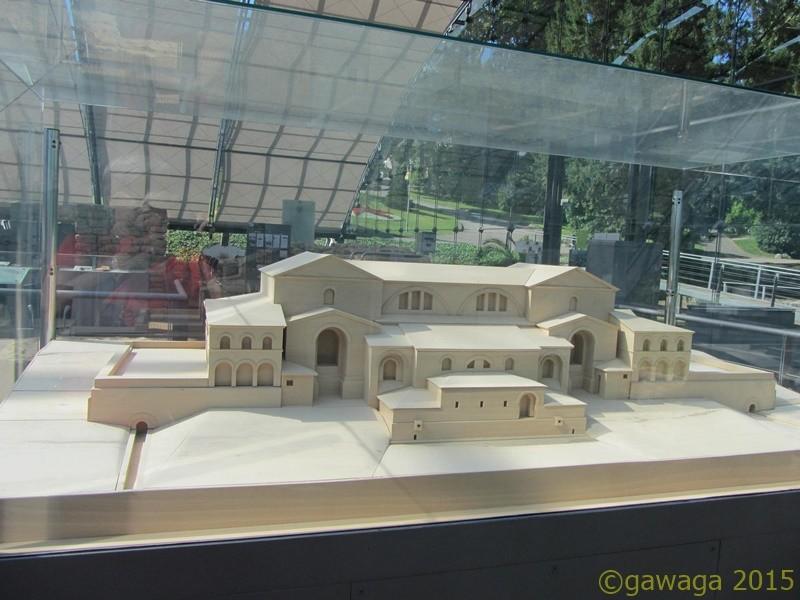 Rekonstruktion der römischen Thermen