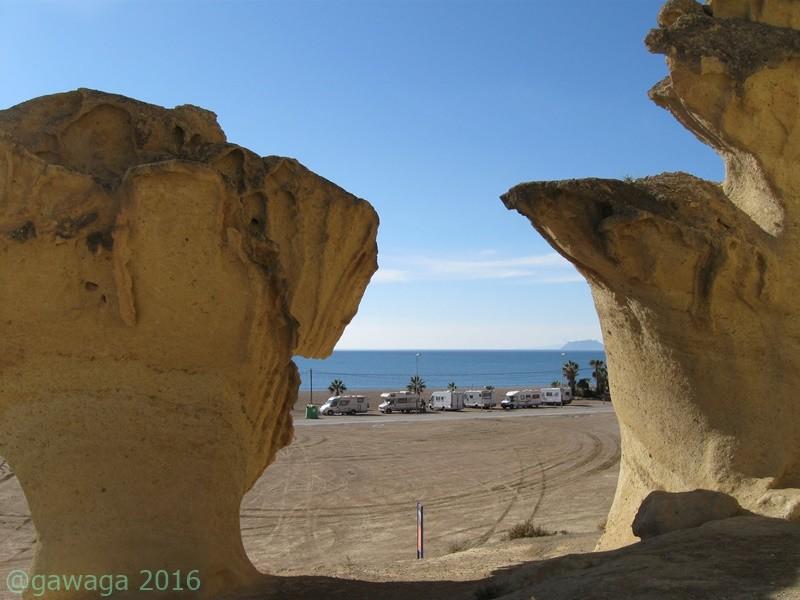 Erosionen von Bolnuevo