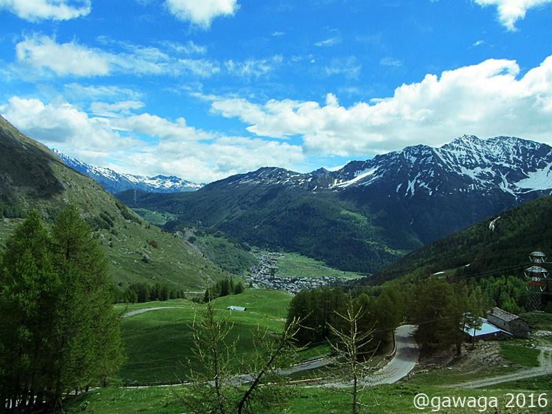 durch das Aosta Tal