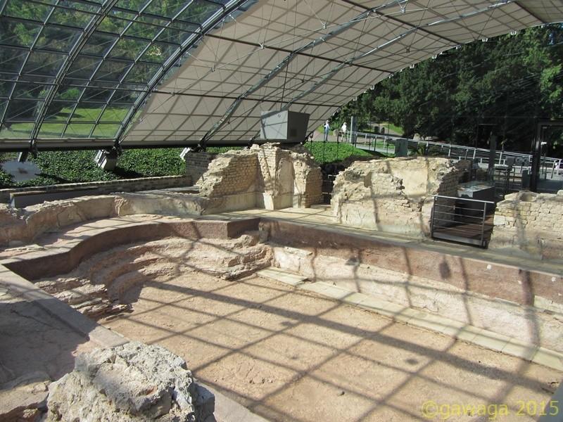 Ausgrabungen römische Thermen