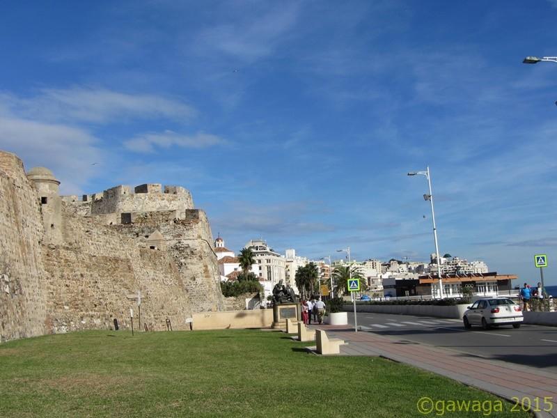 die königlichen Festungsmauern