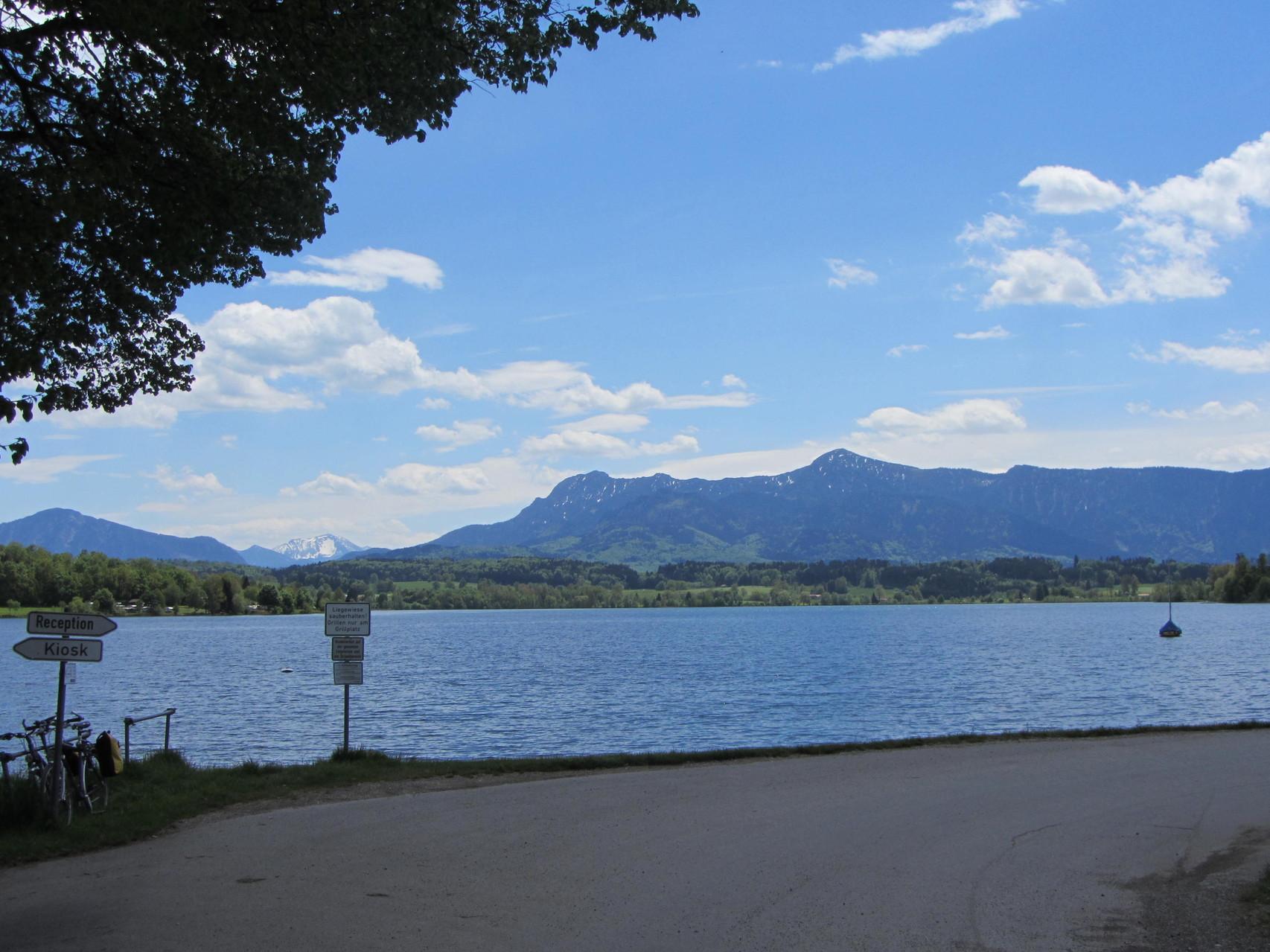Seepromenade Riegsee vor dem CP