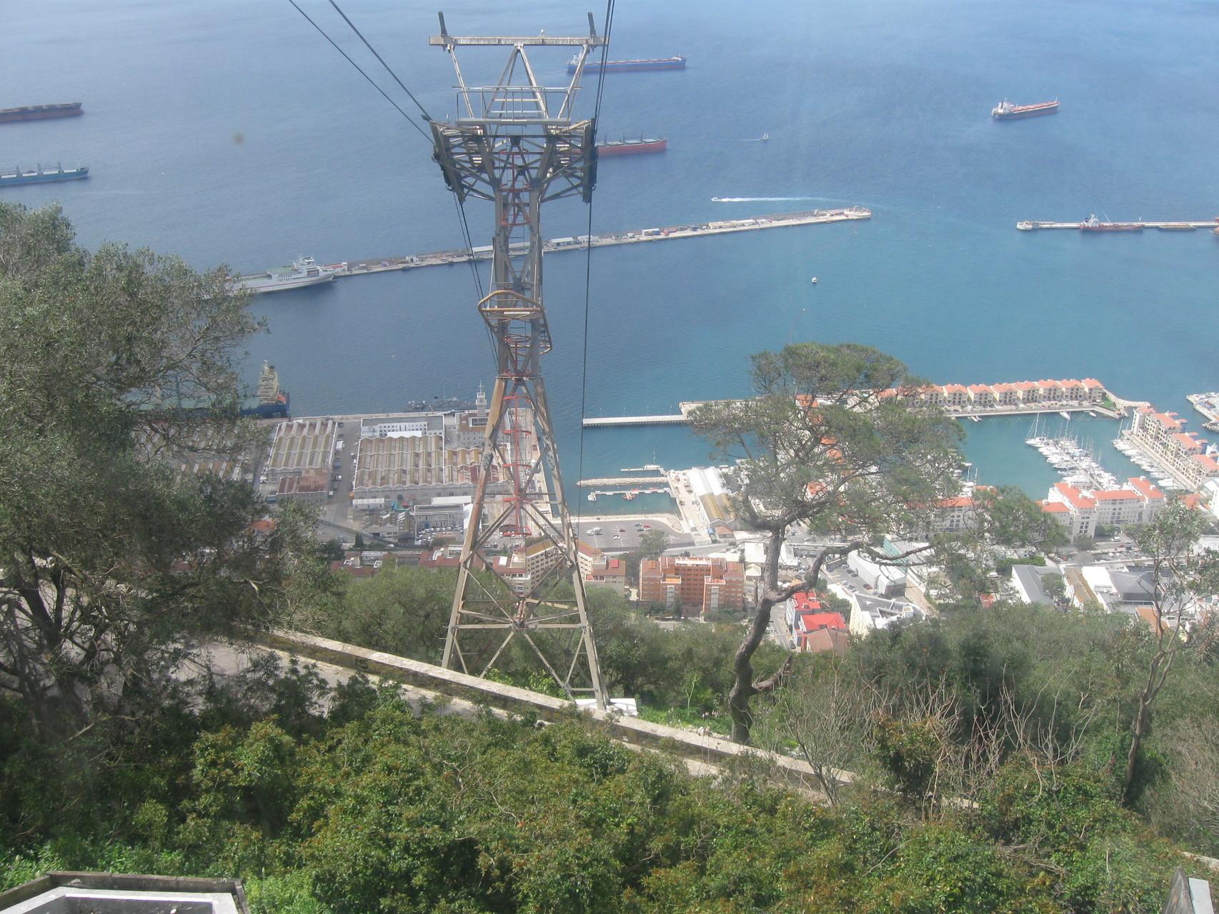 Blick in Richtung Algeciras