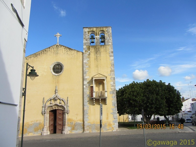 eine Kirche in Moura