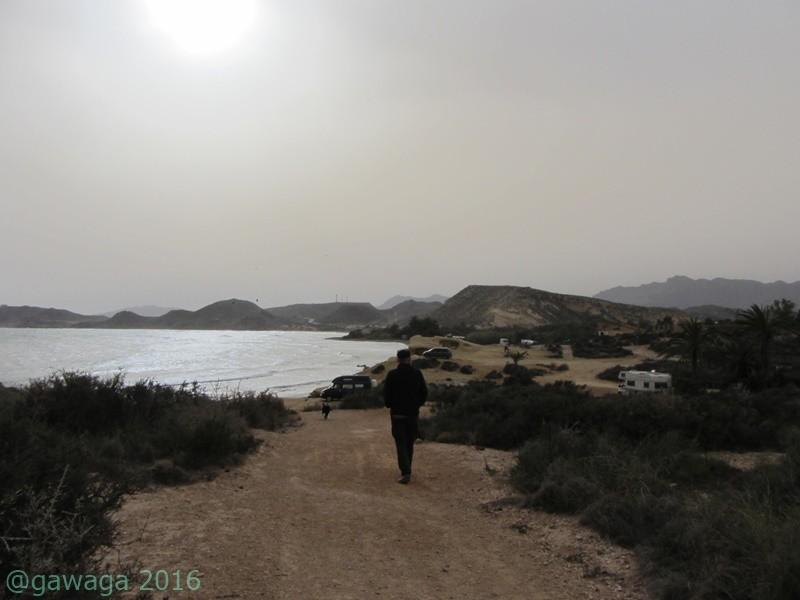 Spaziergang zur nächsten Bucht