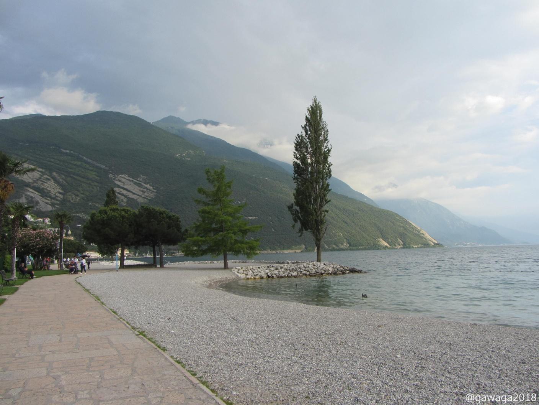 Strand in Torbole