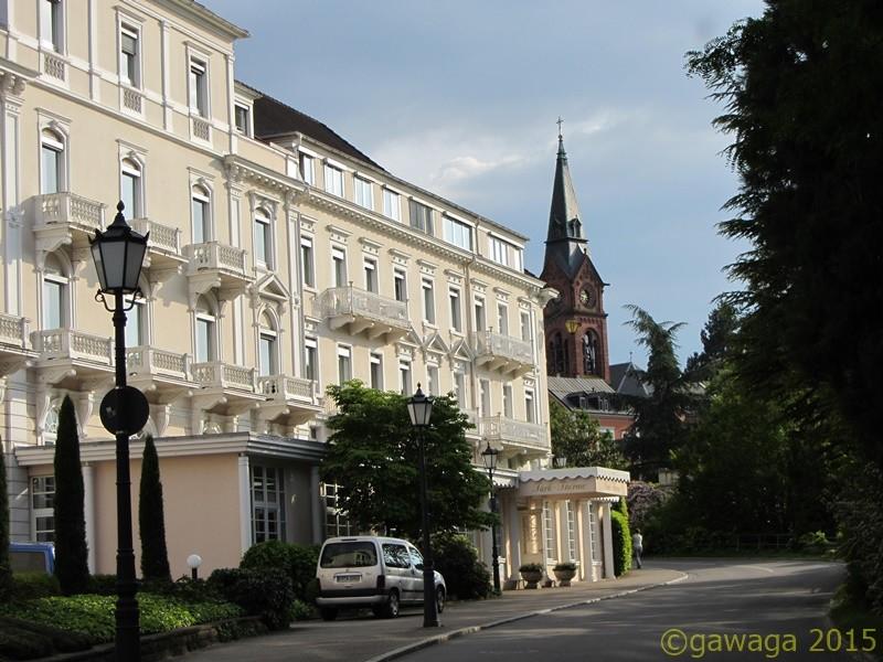 ehem. Hotel Sommer-heute Park-Therme-Klinik , hier starb Tschechow 1904