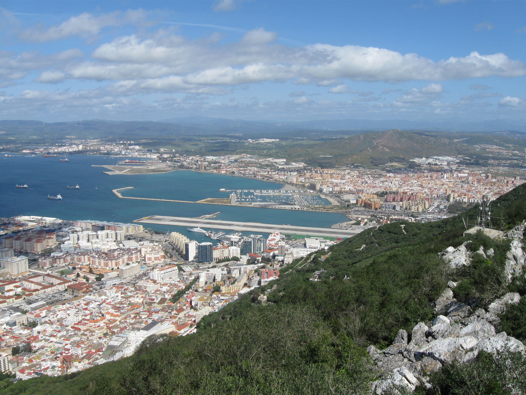 La Alcaidesa Marina, dort steht das WoMo