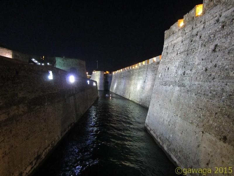 die königlichen Mauern
