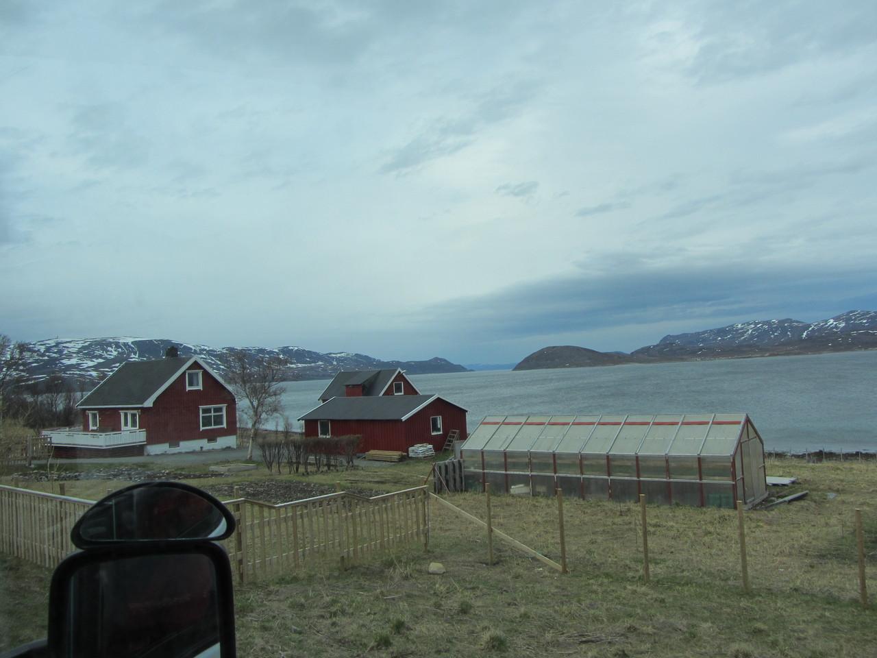 Auf dem Weg nach Hammerfest