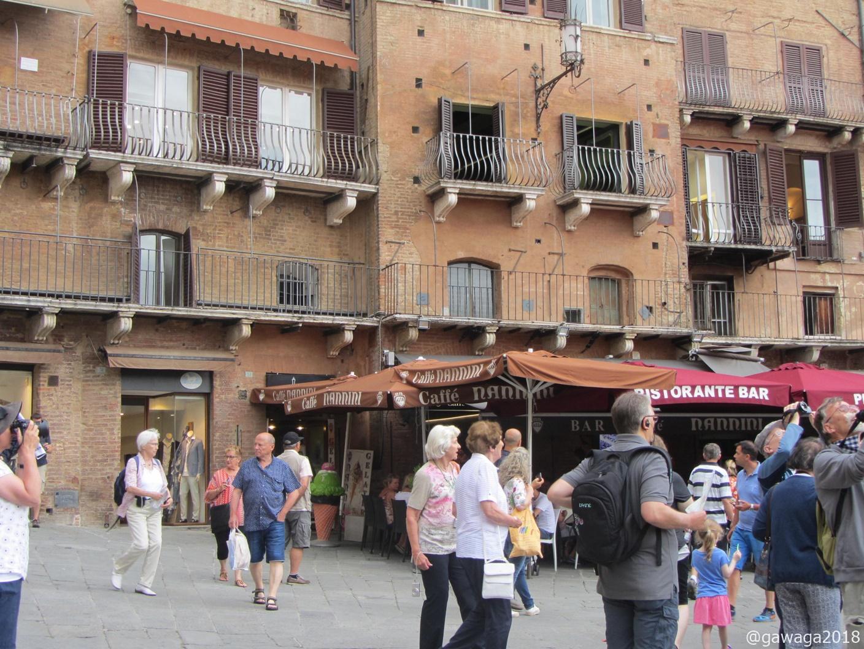 das Café Nannini, gehört der Familie der Rocksängerin Gianna Nannini