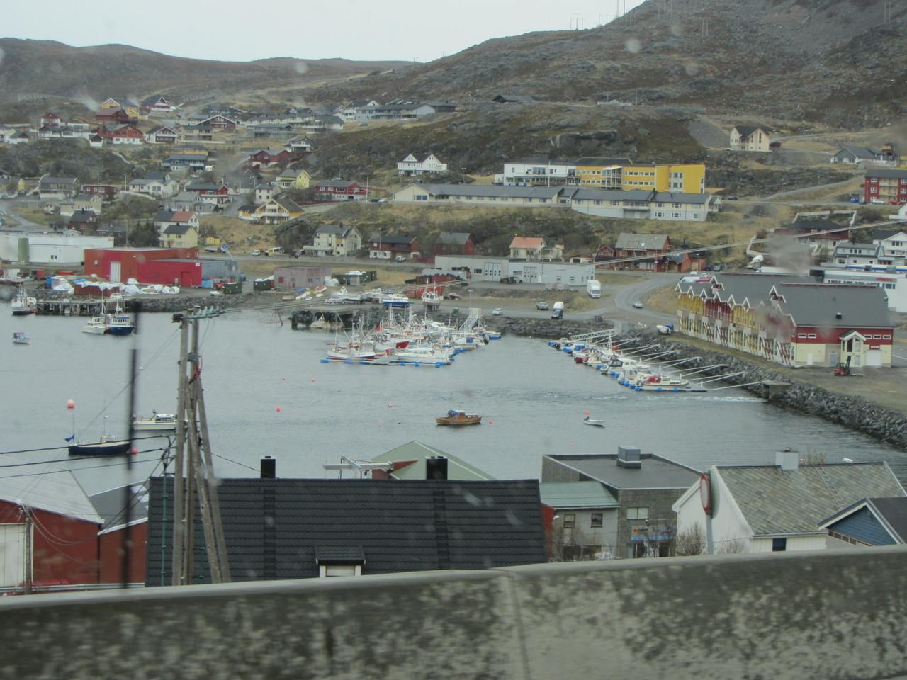 erster Blick auf Hammerfest