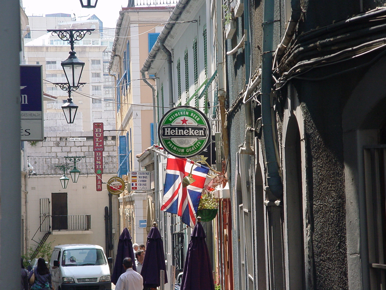 Union Jack in Gibraltar