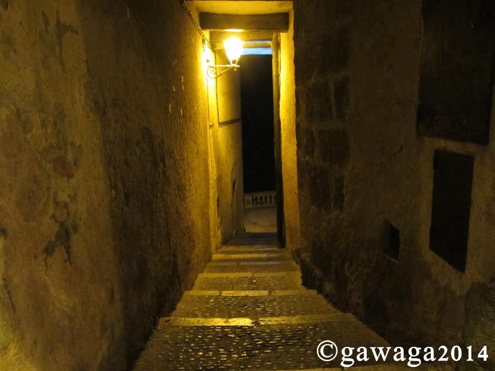 Enge Gassen in Cuenca