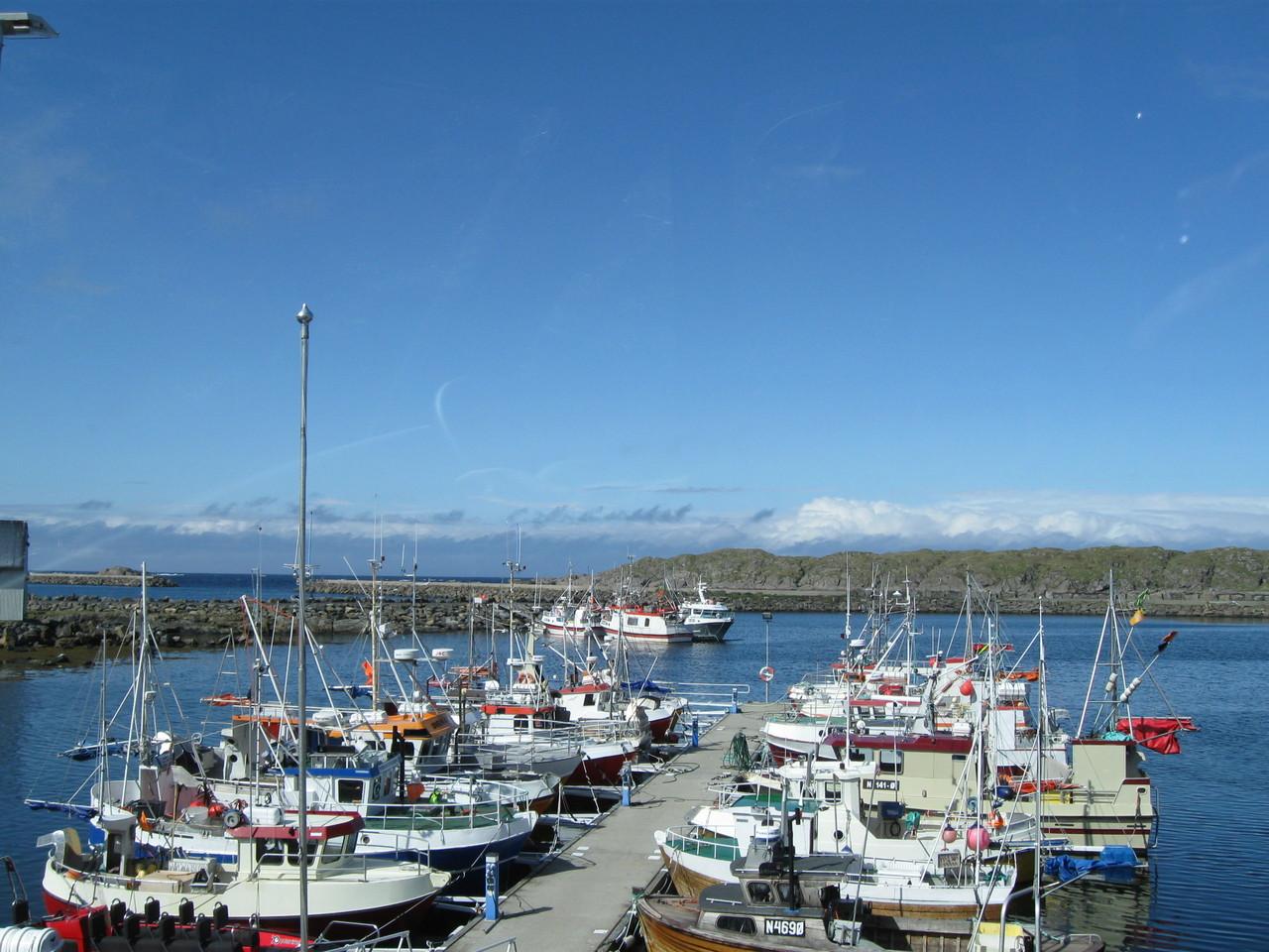 der Hafen von Stø