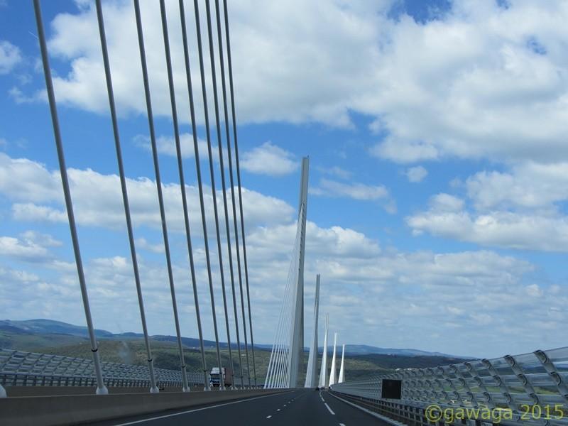 die Brücke von Millau überwältigt mich jedes Mal aufs Neue
