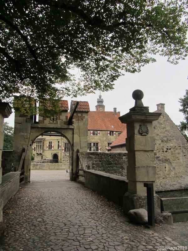 Eingang zur Burg Vischering