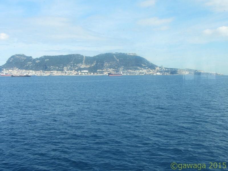 in die Straße von Gibraltar