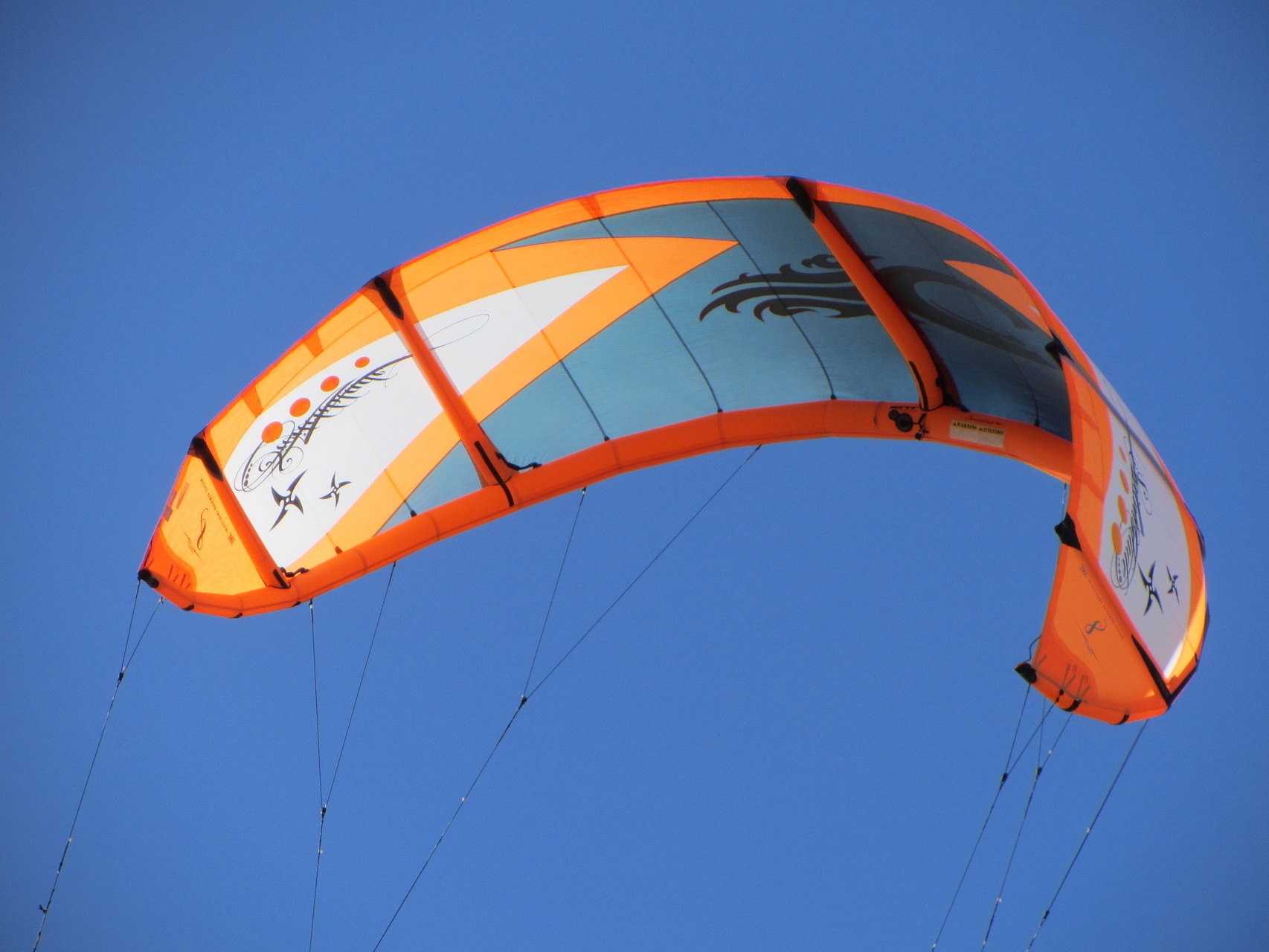 Kitesurfer vor Tarifa