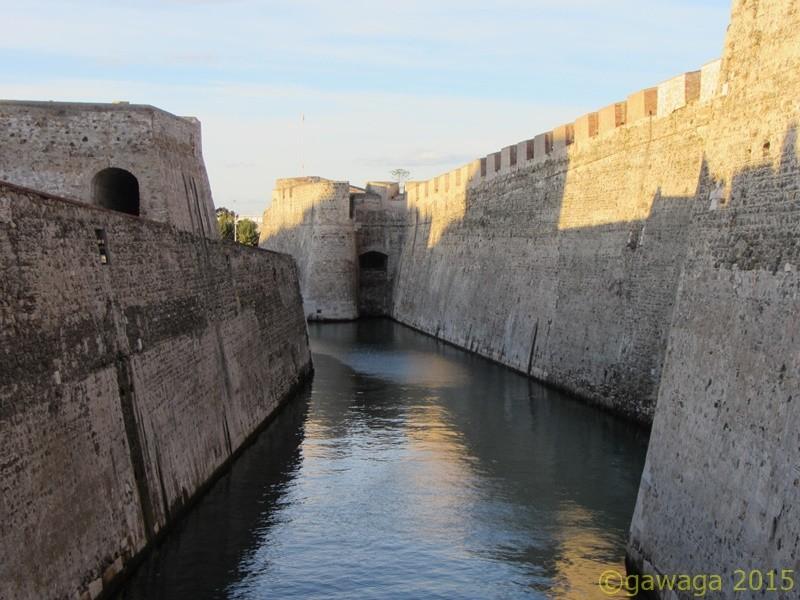 las Murallas Reales, die das alte Ceuta begrenzten