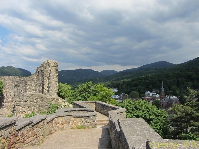 auf der Burg Baden