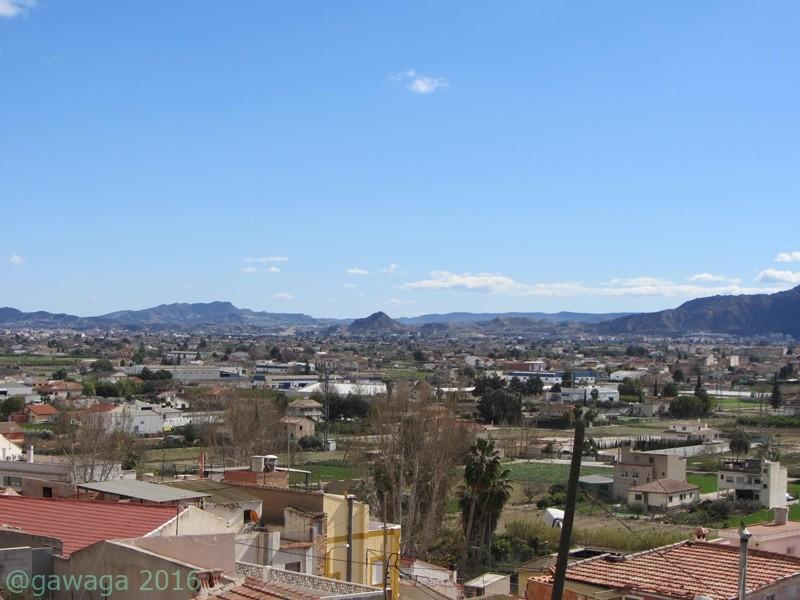 Blick nach Murcia