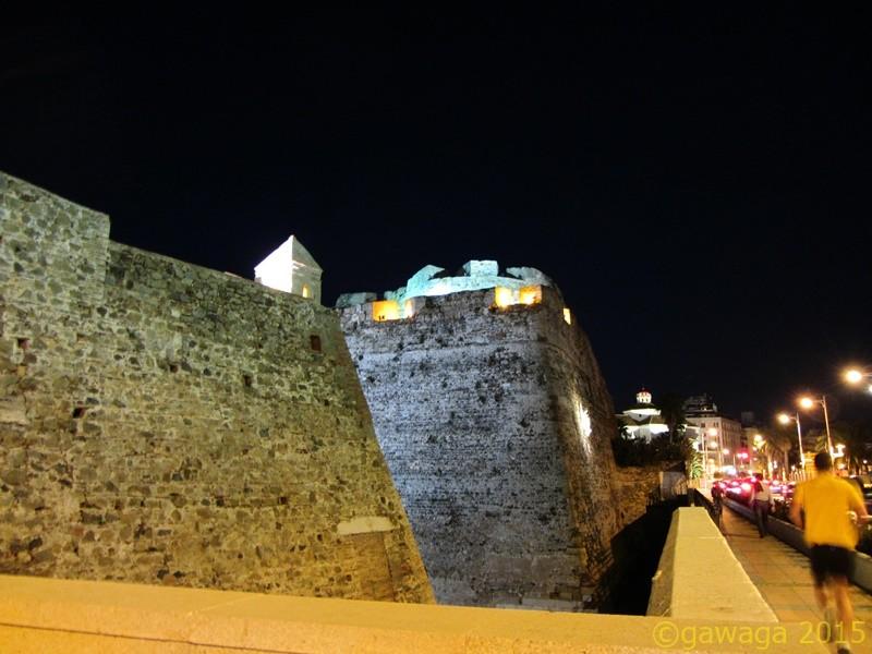 die Mauern sind beeindruckend