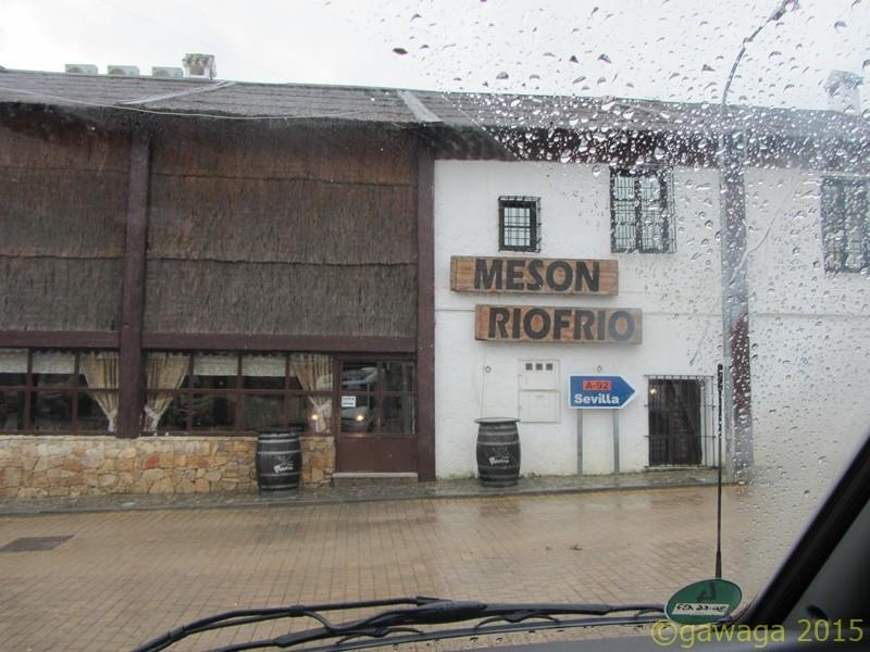 auch in Riofrío nur Regen