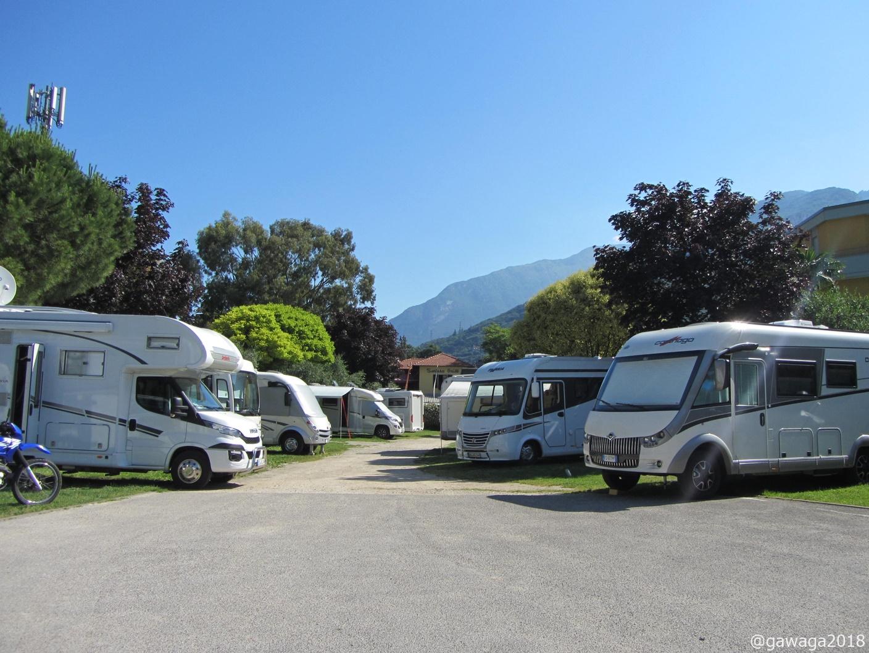 Camper Stop Torbole