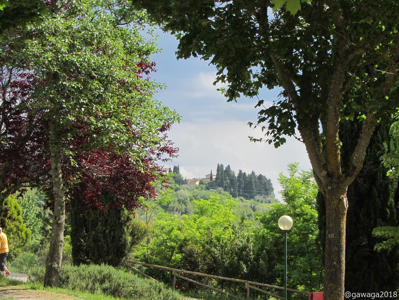 Blick vom CP in Certaldo