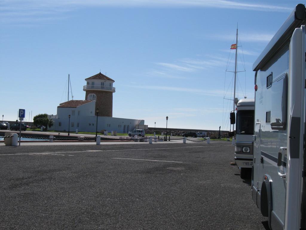 der Leuchtturm im Hafen von Almerimar