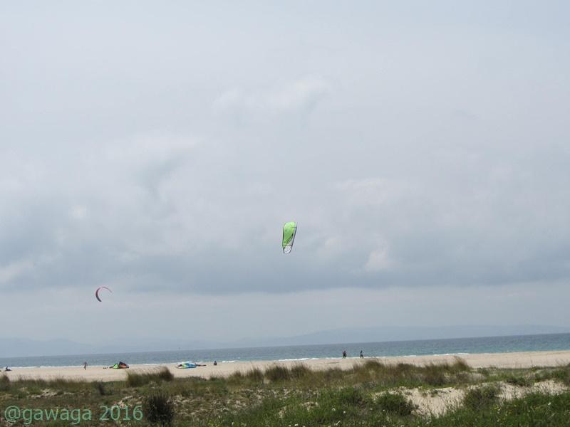 Kitesurfer bei Tarifa