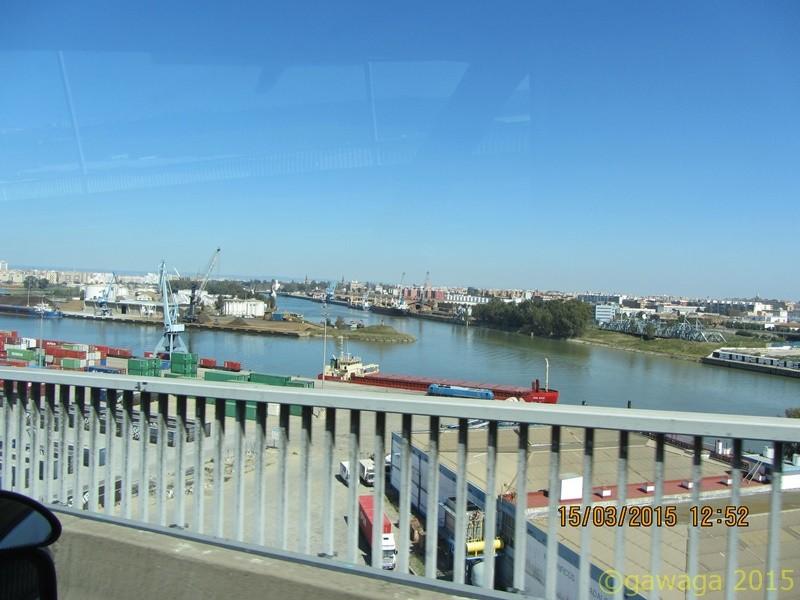 der Hafen von Sevilla