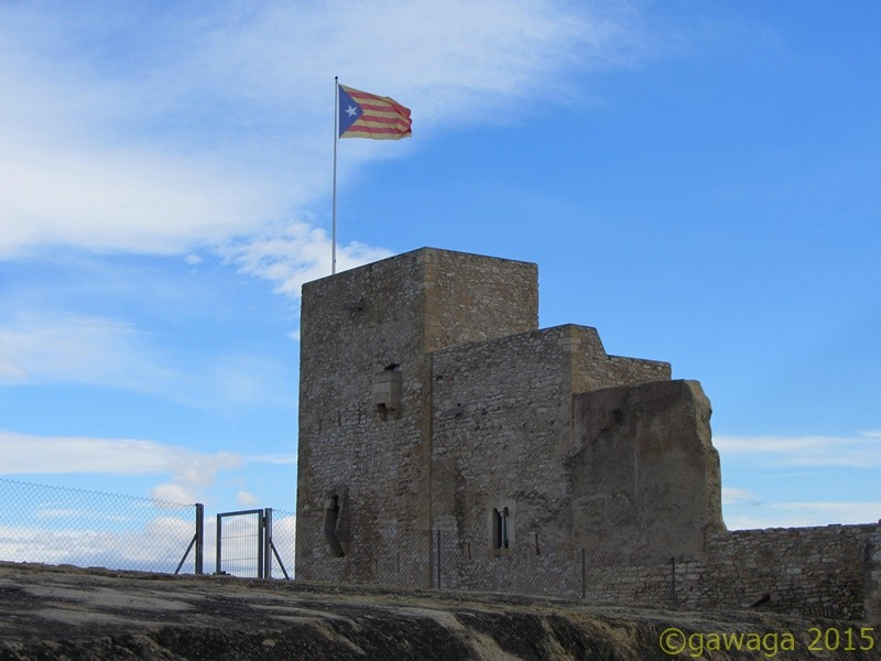 der Turm vom Castillo aus dem 11. Jahrhundert
