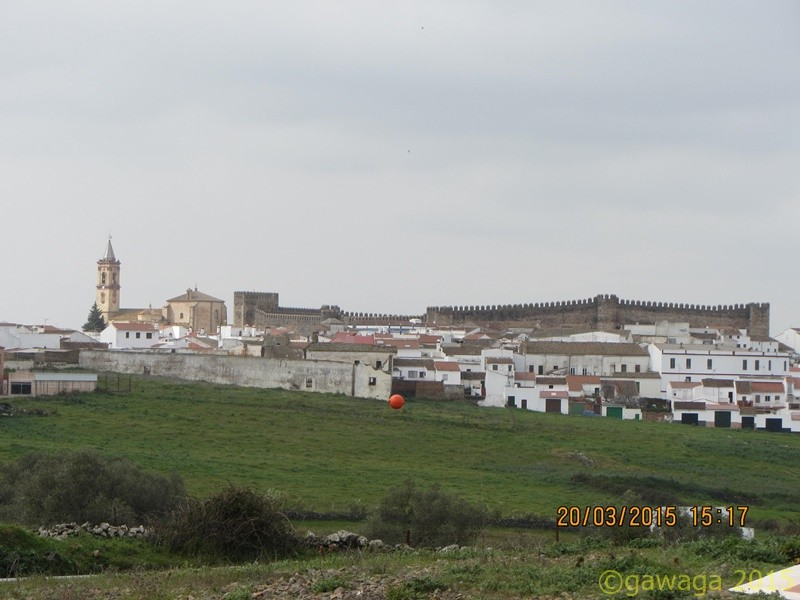mit Blick zum Castillo