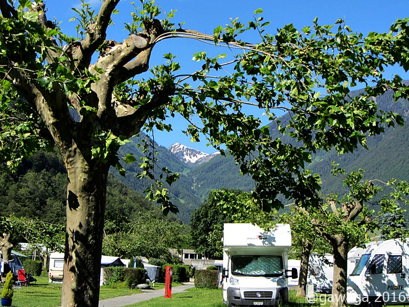 Camping in Martigny