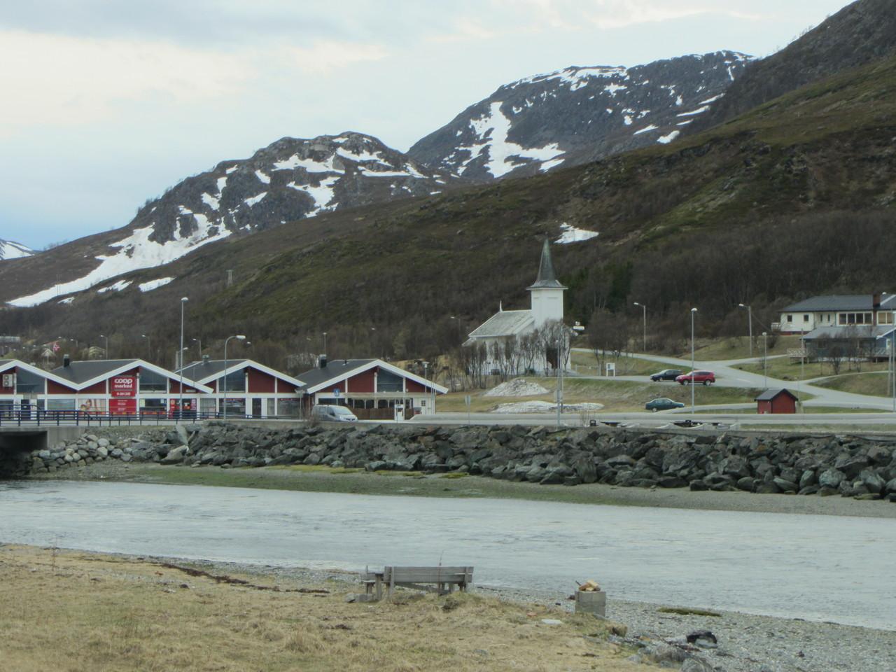 die Kirche von Kvalsund