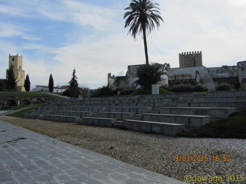 Innenhof des Castelo
