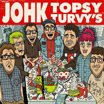 JOHK / TOPSY TURVY'S - Split